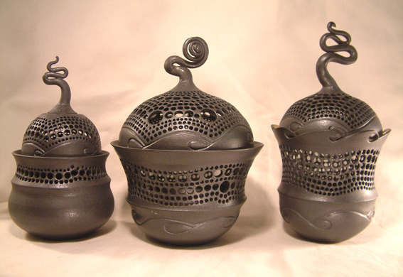 Pierced Trinket Jars