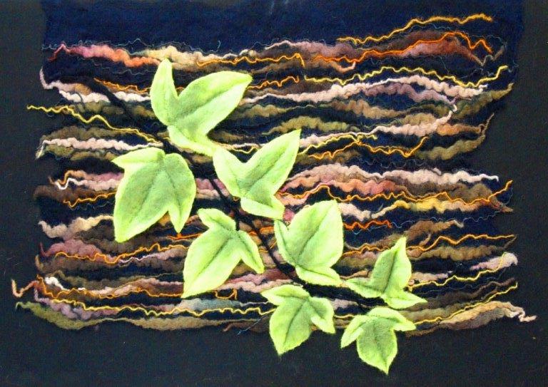 Ivy felting