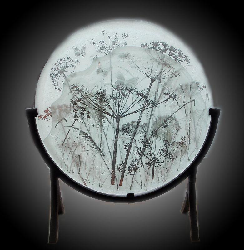 Misty Moonlit Meadow