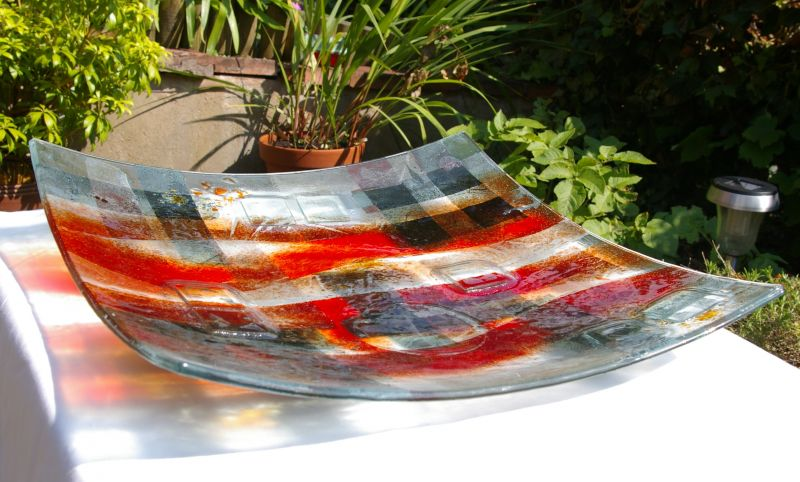 glass bowl abstract