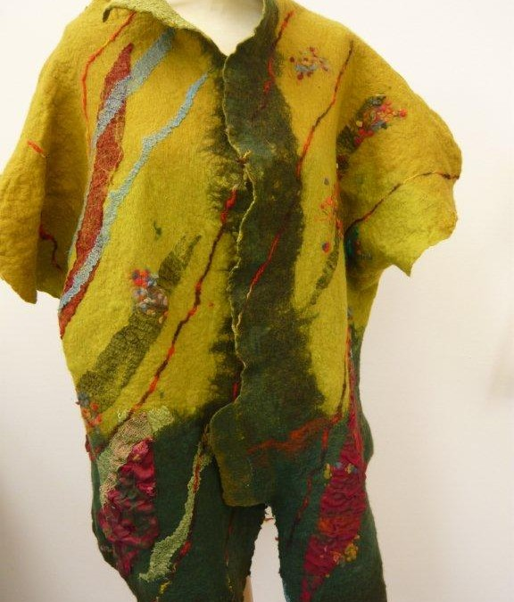 Nuno Felted Coat